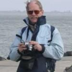 Hoofd Coach en spelverdeler Hans van der Vlist (bij windkracht 10 op Neeltje Jans)